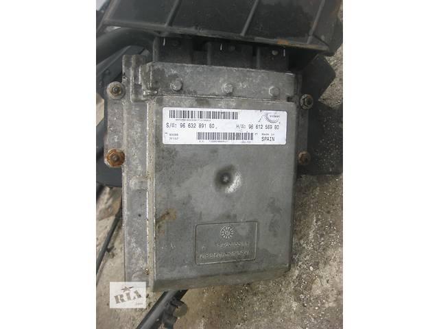 купить бу Б/у блок управления двигателем Peugeot Boxer 2.2 hdi 2006- в Ровно