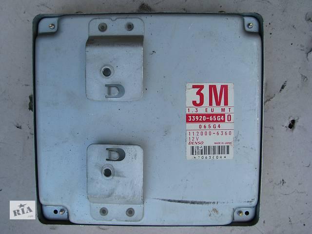 купить бу Б/у блок управления двигателем Suzuki Baleno 1.3i 16V 1998-1999 в Броварах
