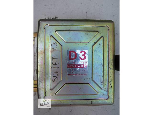 купить бу Б/у блок управления двигателем Suzuki Swift 1.3 1989-1991 в Броварах