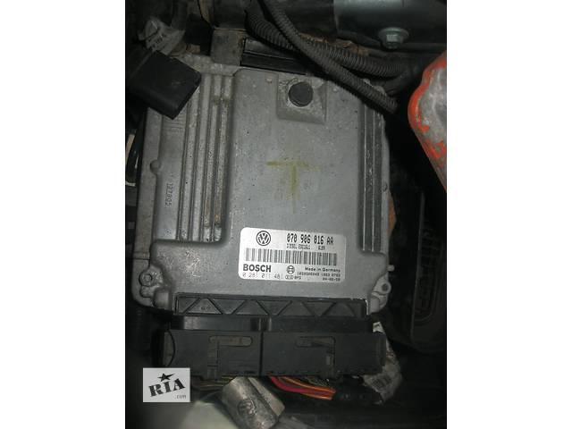 продам Б/у блок управления двигателем Volkswagen Touareg 5.0 tdi v10  070906016aa бу в Ровно