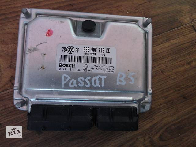 Б/у блок управления двигателем VW B5 1.9 tdi 038906019- объявление о продаже  в Ужгороде