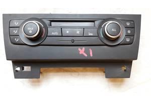 б/у Блоки управления печкой/климатконтролем BMW X1