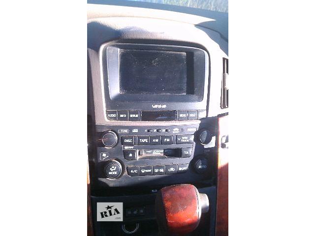 продам Б/у блок управления печкой/климатконтролем для кроссовера Lexus RX 300 2000-2003г бу в Киеве
