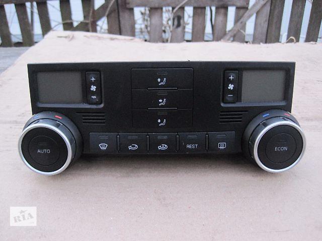 продам Б/у блок управления печкой/климатконтролем для легкового авто Volkswagen Touareg бу в Сумах
