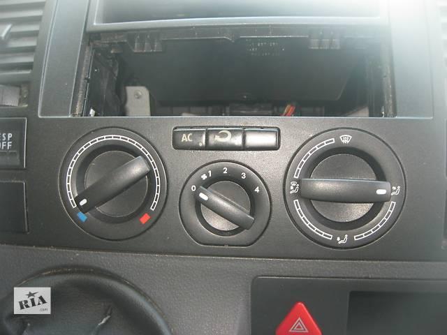 купить бу Б/у блок управления печкой переключатель печки Volkswagen T5 в Ровно