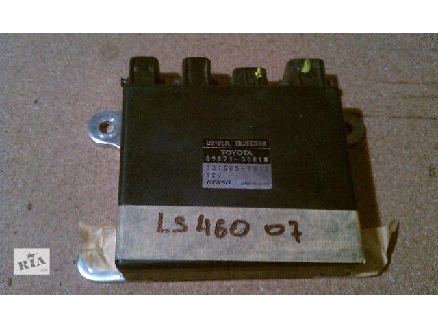 купить бу Б/у блок управления DRIVER INJECTOR 89871-50010 для седана Lexus LS 460 2007 в Николаеве