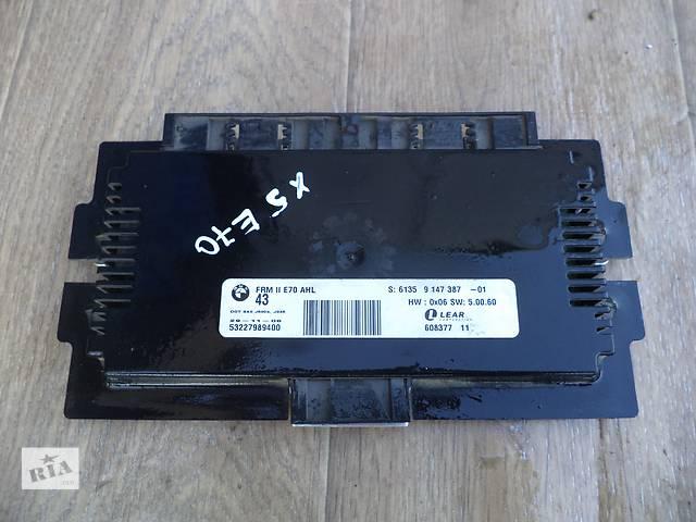 Б/у блок управления светом 61359147387 для кроссовера BMW X5 E70 2008г- объявление о продаже  в Киеве