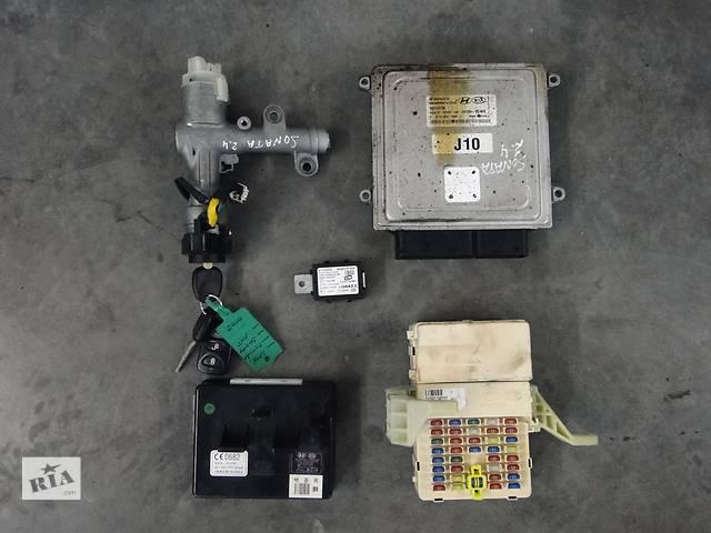 продам Б/у блок управління двигуном для легкового авто Hyundai Sonata 2.4 05-08р. 39100-25100 бу в Львове