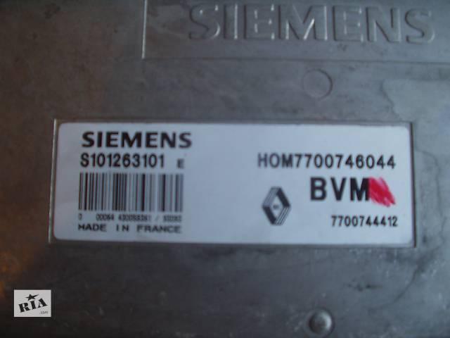 Б/у Блок управления двигателем Renault 19 , ( ЄБУ ) Made in France / BYM , Siemens S101263101 , гарантия , доставка- объявление о продаже  в Тернополе