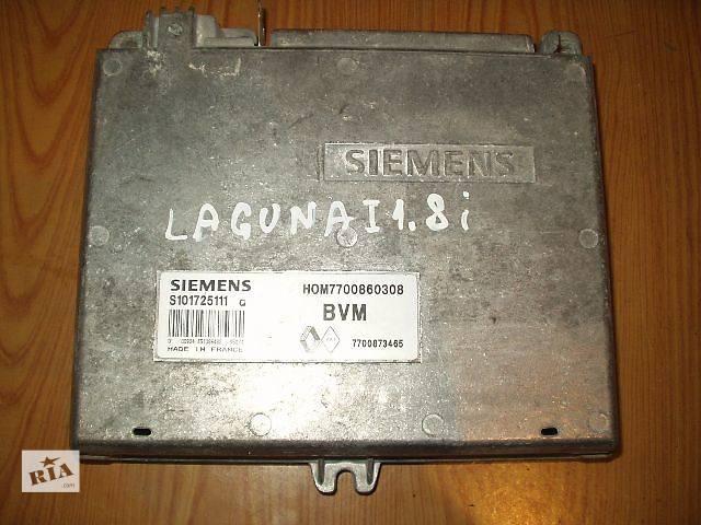 продам Б/у Блок управления двигателем Renault Laguna 1.8 I , 7700873465, SIEMENS S101725111 HOM7700860308 рабочий , гарантия . бу в Тернополе