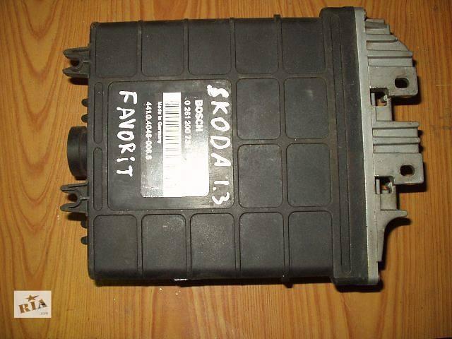 купить бу Б/у Блок управления двигателем Skoda Favorit - 141,0,4046-0066 BOSCH 0261200734  , гарантия , доставка в Тернополе