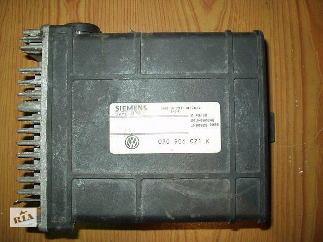 бу Б/у Блок управления двигателем Volkswagen Golf 2 , кат № 030906021k. SIEMENS 5WP6007 , гарантия , доставка в Тернополе