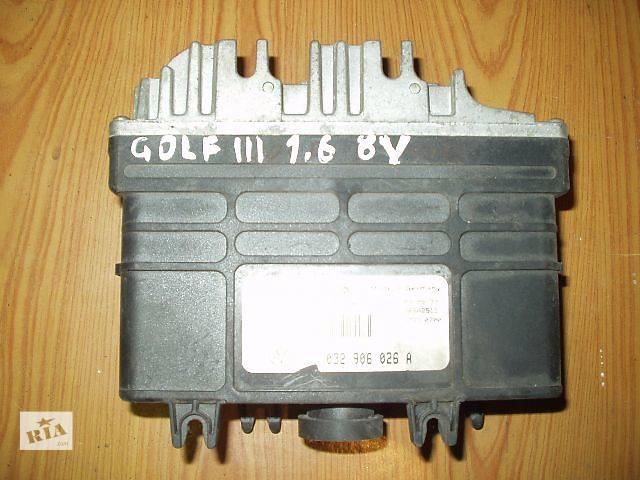 Б/у Блок управления двигателем Volkswagen Golf III ,  кат № 030906028A , BOSCH 0261200764 - 1.6 , 8V  доставка .- объявление о продаже  в Тернополе