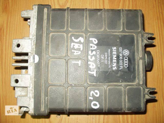 Б/у Блок управления двигателем Volkswagen Passat B3 , SEAT, кат №  037906022FL SIEMENS 5WP4087 DIGIFANT DF1 , гарантия .- объявление о продаже  в Тернополе