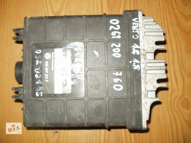 купить бу Б/у Блок управления двигателем Volkswagen Vento 1H0907311F, 1.6. 1.8 BOSCH 0261200760 рабочий, гарантия, доставка в Тернополе