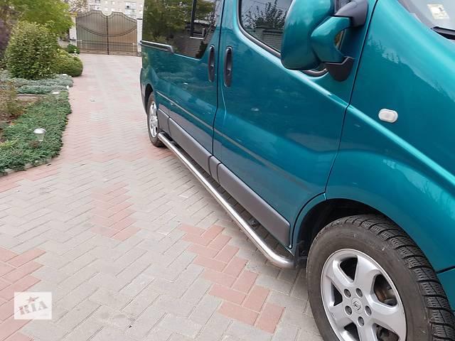 продам Б/у боковые пороги, подножки для Renault Trafic LONG. бу в Виннице
