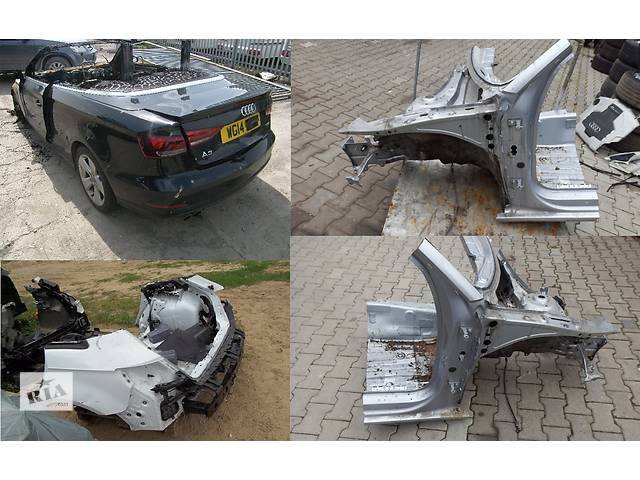 купить бу Б/у четверть автомобиля для легкового авто Audi A3 8v 12- в Львове
