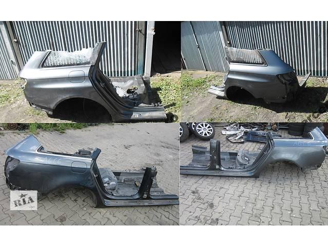 Б/у четверть автомобиля для легкового авто Audi A6 C6 04-11- объявление о продаже  в Львове