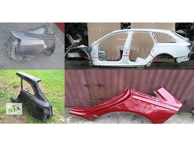 продам Б/у четверть автомобиля для легкового авто Audi A6 C7 11- бу в Львове