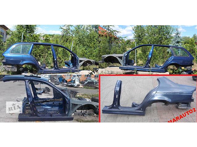 продам Б/у четверть автомобиля для легкового авто BMW 5 Series e39 бу в Львове