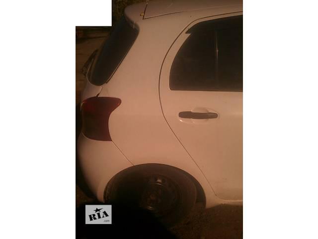 бу Б/у четверть автомобиля задняя правая 61601-52270 для хэтчбека Toyota Yaris 2007г в Киеве