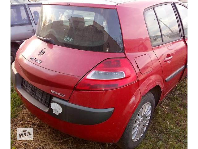 Б/у четверть автомобиля задняя правая для пикапа Renault Kangoo 2006г- объявление о продаже  в Киеве