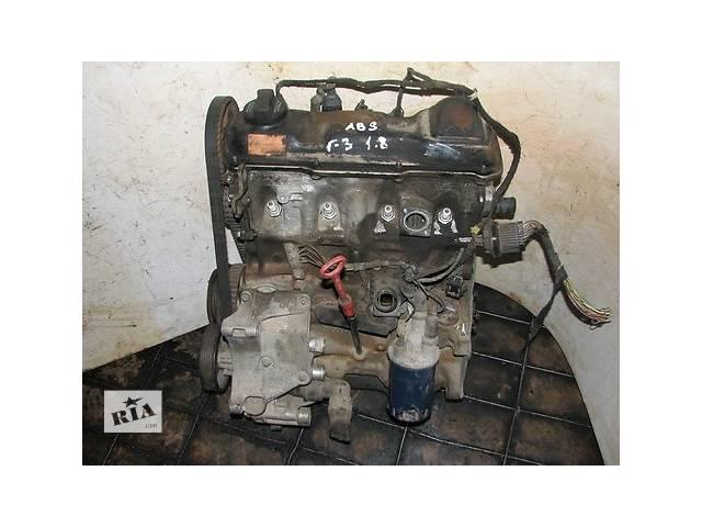 купить бу Б/у Детали двигателя Двигатель 1.8I ABS Volkswagen Golf 1994 в Киеве