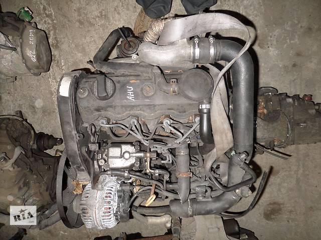 купить бу Б/у Детали двигателя Двигатель Audi A4 1.9 tdi № AHU в Стрые