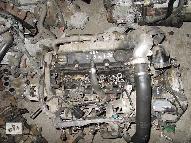 купить бу Б/у Двигатель Citroen Jumpy 2,0hdi № PSA RHZ 2000-2006 в Стрые