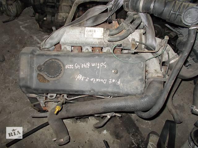 купить бу Б/у Детали двигателя Двигатель Fiat Ducato 2.8 TDI Sofim № 8140.43 2620 в Стрые