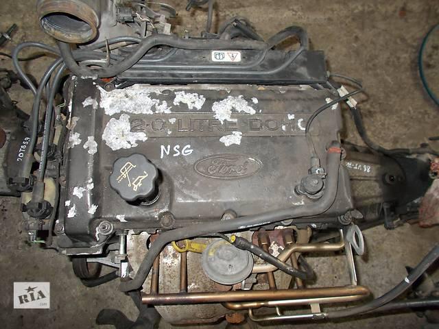 бу Б/у Детали двигателя Двигатель Ford Transit 2.0 бензин № NSG в Стрые