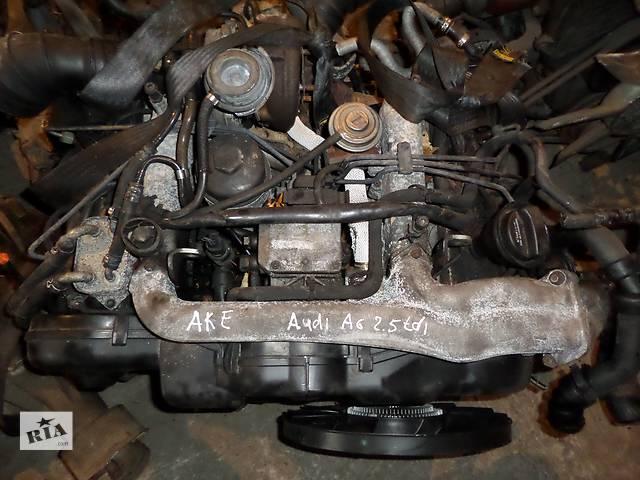 купить бу Б/у Двигатель Audi A4 2,5TDI № AKE 2001-2005 в Стрые