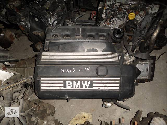 купить бу Б/у Двигатель BMW 530 3.0 бензин (E39, E60) № M54 306S3 в Стрые