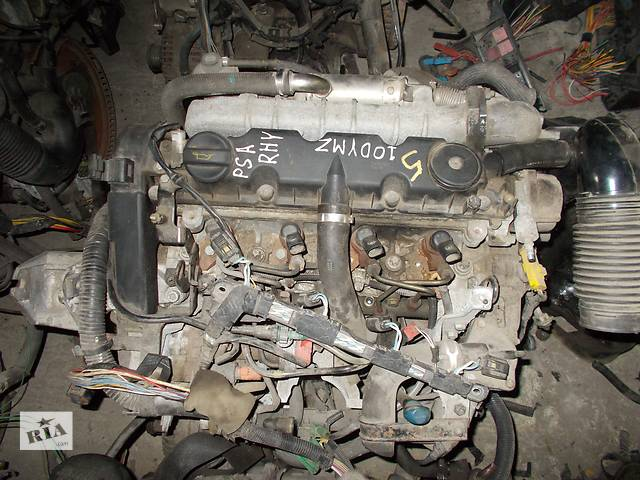 купить бу Б/у Двигатель Peugeot 607 2,0HDI № PSA RHY в Стрые