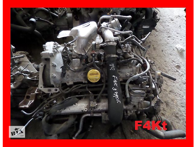 купить бу Б/у Двигатель Renault Laguna 2,0Turbo бензин № F4RQ764, 2.0 бензин в Стрые
