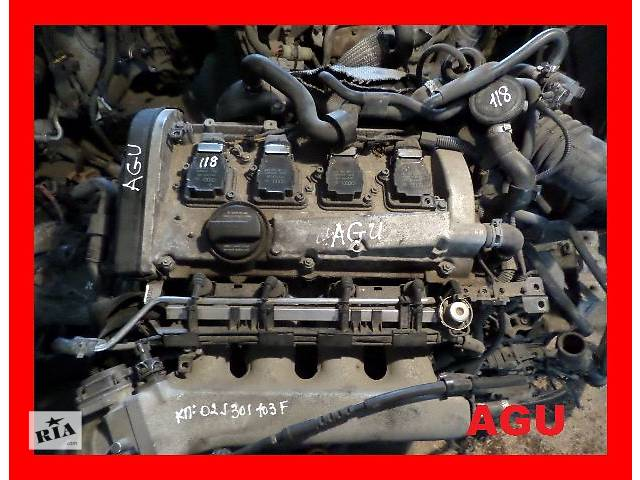 бу Б/у Двигатель Seat Leon 1,8t бензин № AGU, AUM в Стрые