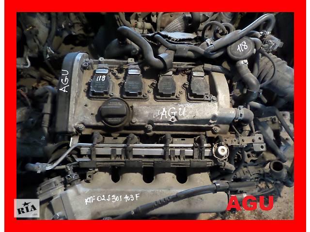 бу Б/у Двигатель Skoda Octavia 1,8t бензин № AGU, AUM в Стрые