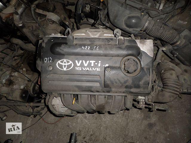 продам Б/у Двигатель Toyota Corolla 1,4 бензин 16V № 4ZZ-FE VVT-i 2000-2007 бу в Стрые