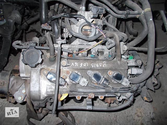 продам Б/у Двигатель Toyota Yaris 1,0 бензин № 1SZ-FE бу в Стрые