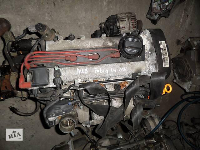 продам Б/у Двигатель Volkswagen Polo 1,4 бензин 16V № AUB бу в Стрые