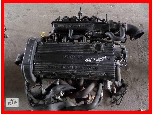 продам Б/у Двигатель Rover 200 1,6 бензин 16V № 16K4F бу в Стрые
