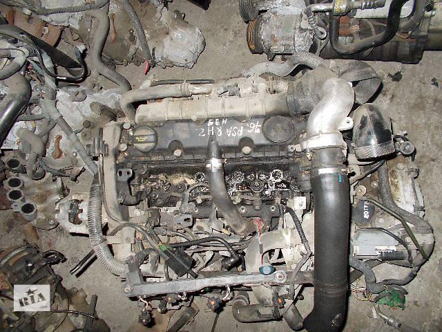 купить бу Б/у Двигатель Fiat Scudo 2,0hdi № PSA RHZ 2000-2006 в Стрые