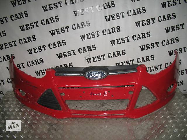 купить бу б/у Детали кузова Бампер передний Легковой Ford Focus Hatchback (5d) 2012 в Луцке