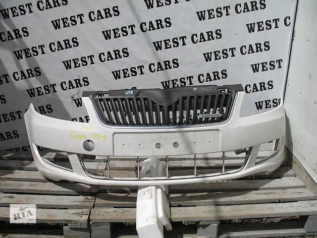 купить бу б/у Детали кузова Бампер передний Легковой Skoda Fabia 2013 в Луцке