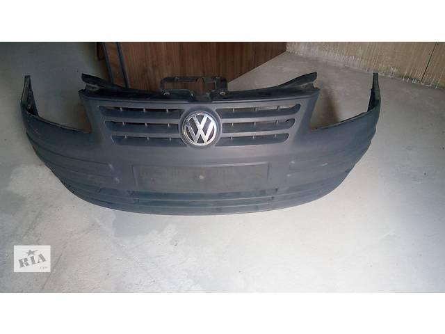 купить бу Б/у Бампер передній  для минивена Volkswagen Caddy в Тернополе