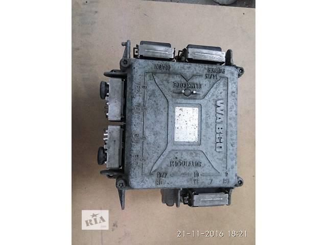 Б/у  модулятор ЕBS для прицепа тормозной кран ABS,в отличном состоянии.- объявление о продаже  в Одессе