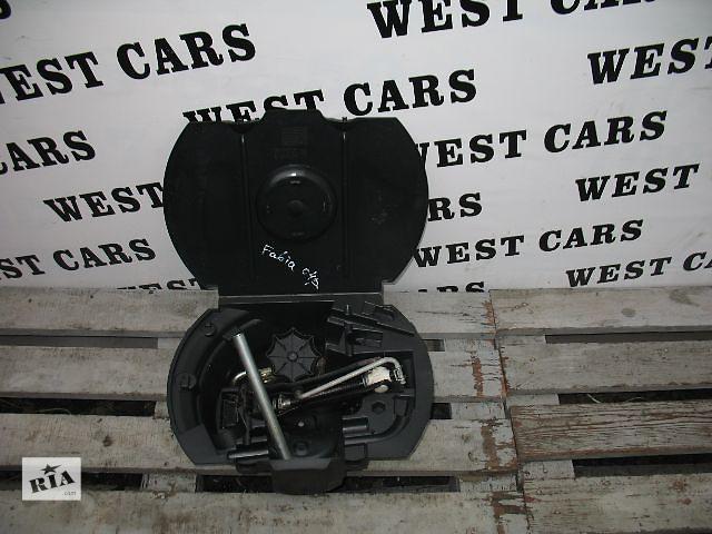 бу Б/у домкрат для легкового авто Skoda Fabia 2004 в Луцке