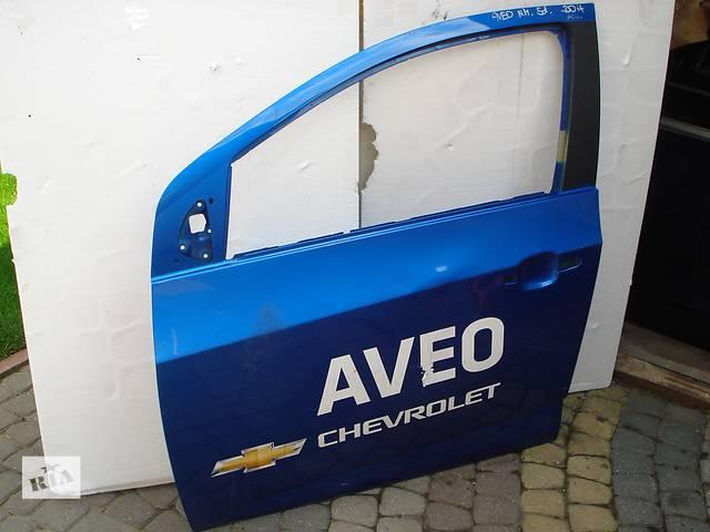 продам Б/у дверь передняя для легкового авто Chevrolet Aveo бу в Львове