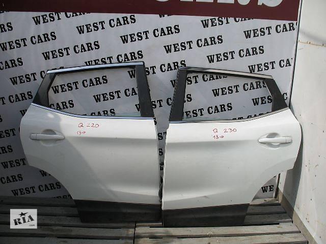 Б/у дверь задняя левая для легкового авто Nissan Qashqai 2013- объявление о продаже  в Луцке