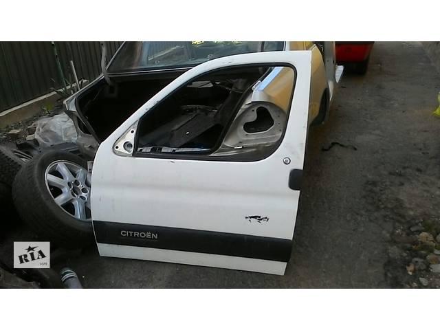 продам Б/у дверь передняя для минивена Citroen Berlingo бу в Львове